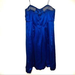 Cache Dresses - Royal Blue short cache dress Homecoming/Prom size2